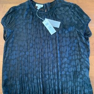 Faconnable Women's Sheer Dress Top, Size M